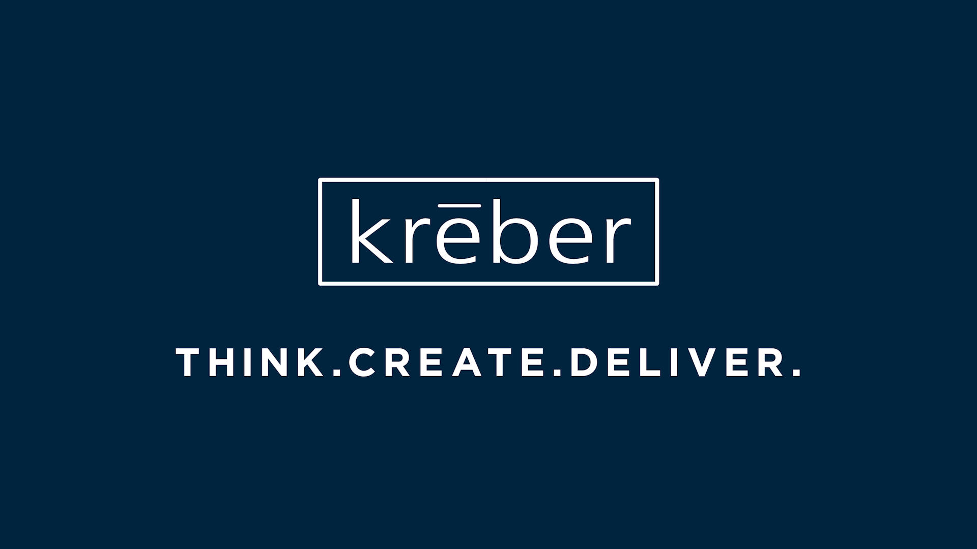 Think. Create. Deliver